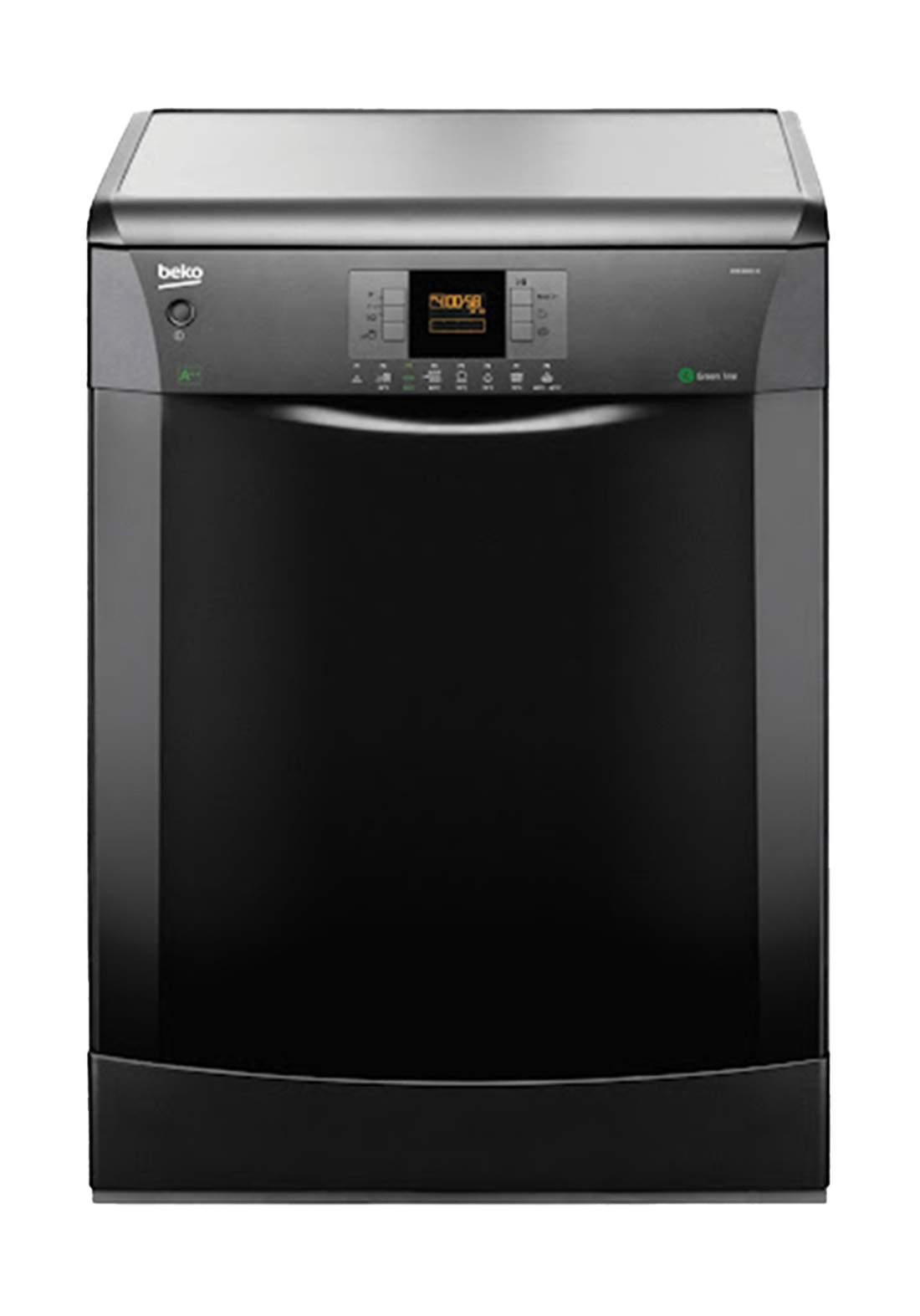 Beko  DFN 6833B Dishwasher Built-in 8 Programs Capacity Of 14 Sets - Black  غسالة صحون