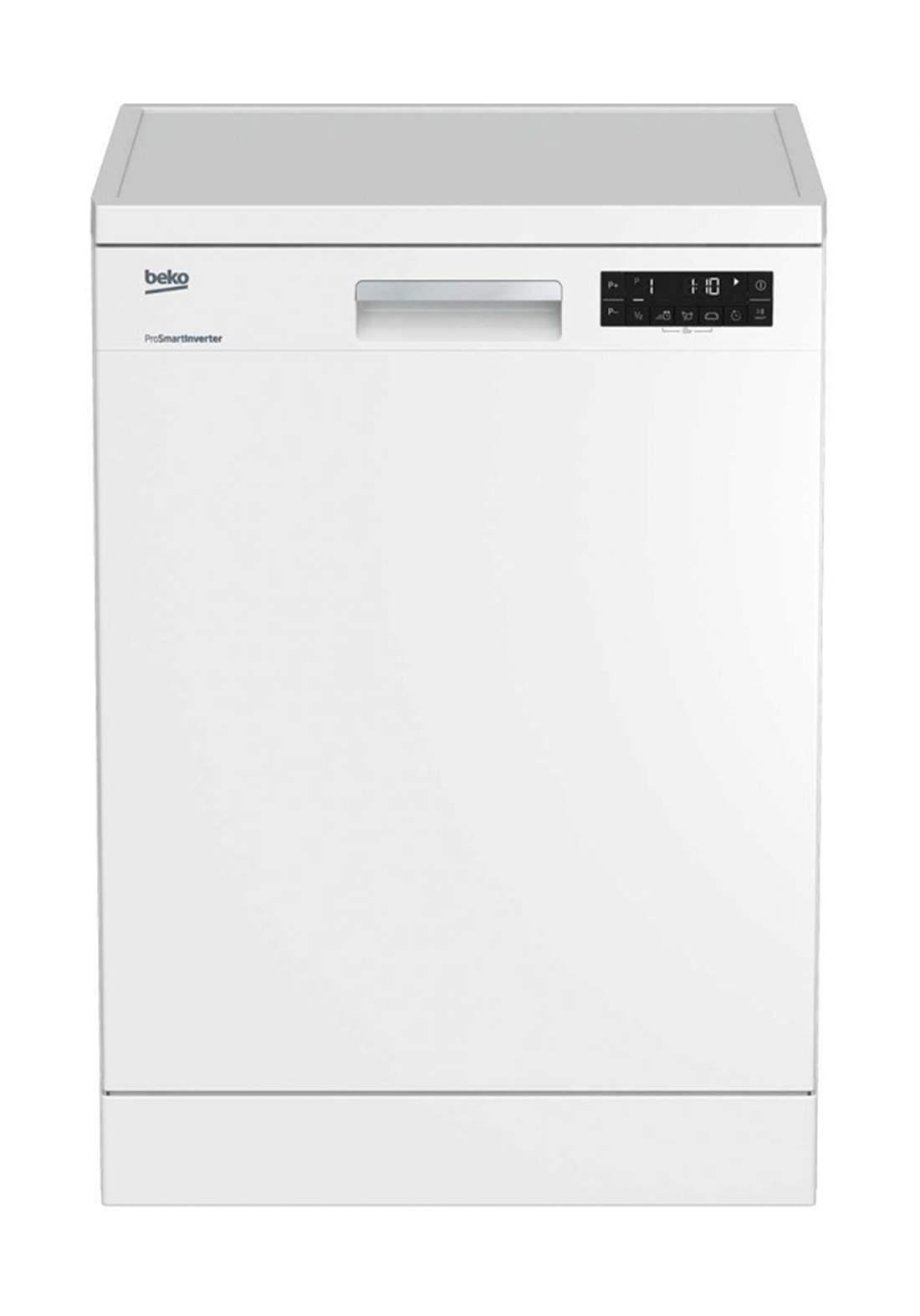 Beko  DFN 28424 W Dishwasher 8 Programs Capacity Of 14 Sets - White  غسالة صحون