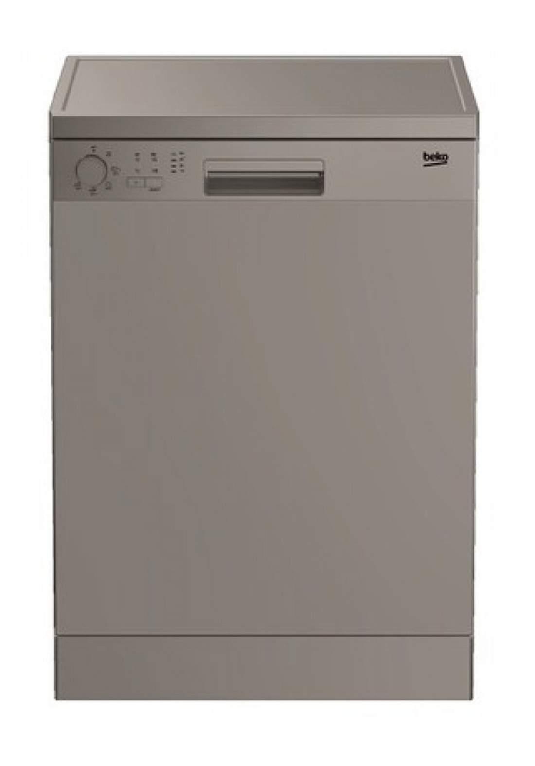 Beko DFN 05320S Dishwasher 5 Programs Capacity Of 13 Sets - Gray  غسالة صحون