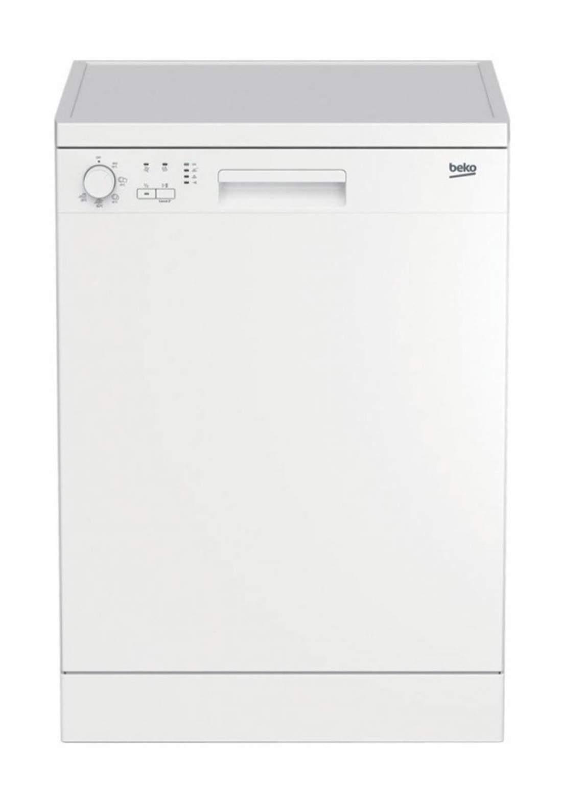 Beko  DFN 05311 W Dishwasher 5 Programs Capacity Of 13 Sets - White غسالة صحون