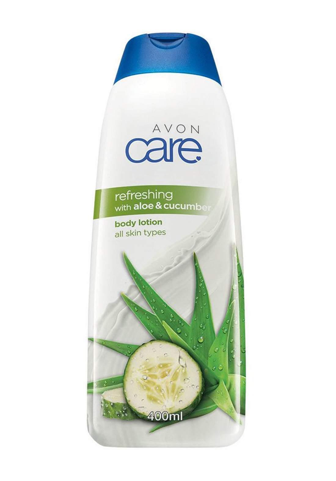 Avon 1292593 Care Refreshing with Aloe & Cucumber Body Lotion 400 ml كريم ترطيب للجسم
