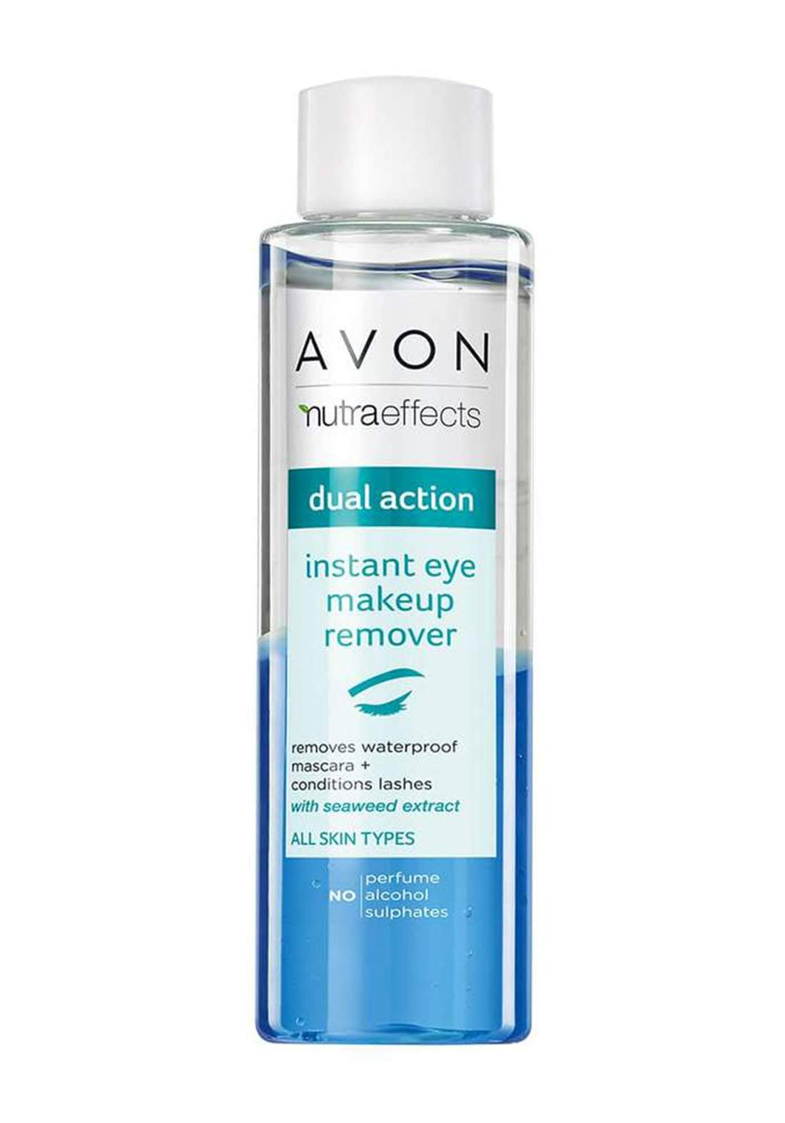 Avon 1332809 Nutra Effects Dual Action Instant Eye Makeup Remover 125ml  مزيل مكياج