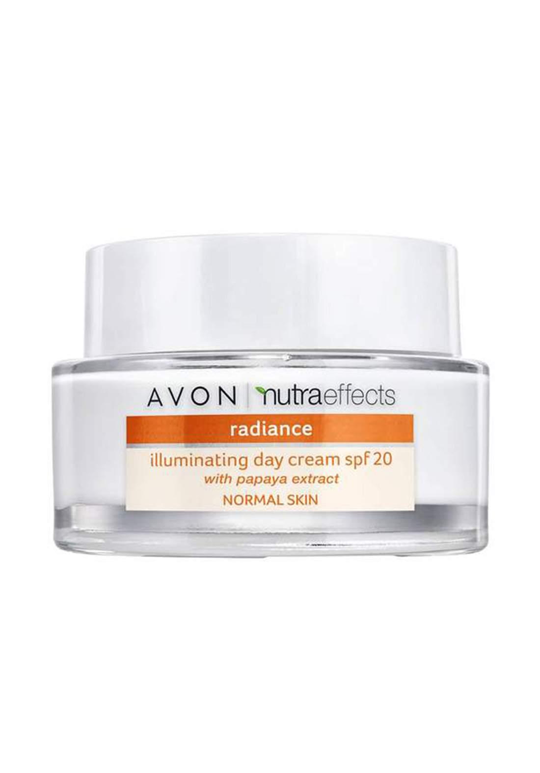 Avon 1343437 Nutra Effects Radiance Illuminating Day Cream SPF20 50 Ml كريم نهاري