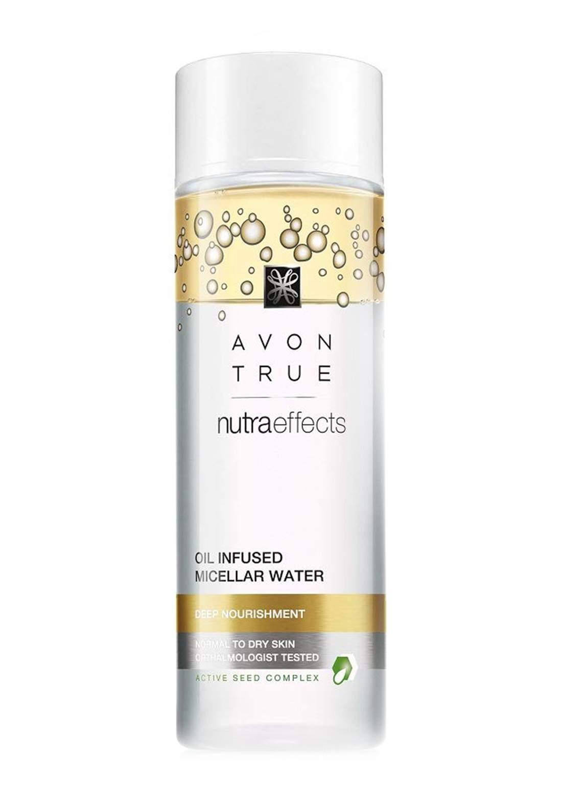 Avon 1728800 True Nutraeffects Oil Infused Micellar Water 200 ml مزيل مكياج