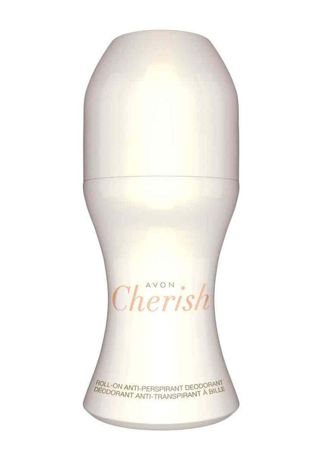Avon 4554200 Cherish Roll-On Deodorant for Women 50ml مزيل عرق
