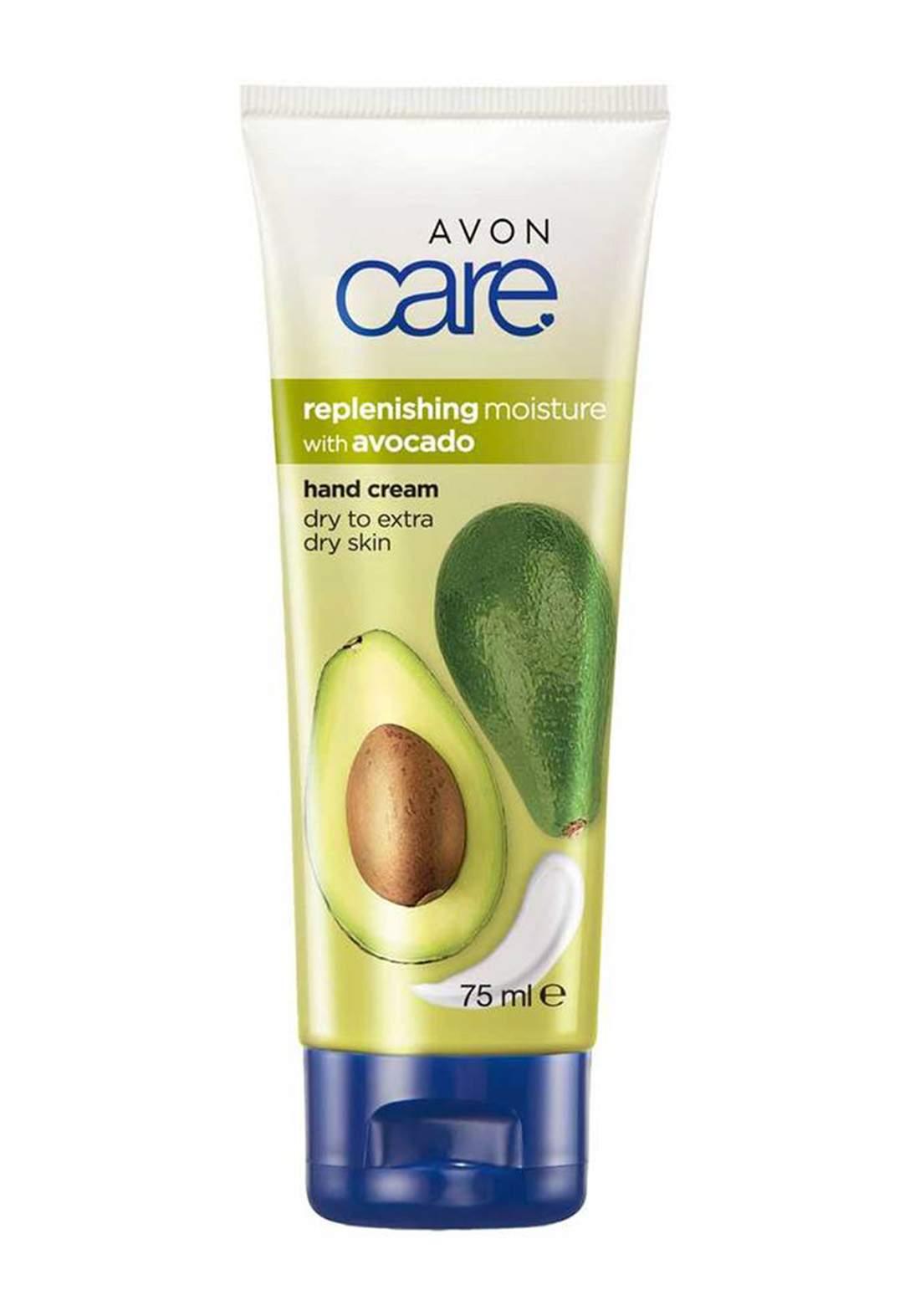 Avon 5940500 Care Replenishing Moisture Hand Cream with Avocado Oil Vitamin E - 75ml كريم لليدين