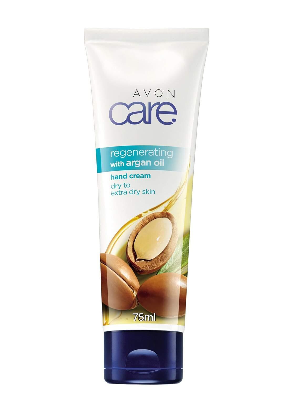 Avon 8211300 Care Argan Oil Glycerin and Vitamin E Hand Cream 75 ml كريم لليدين