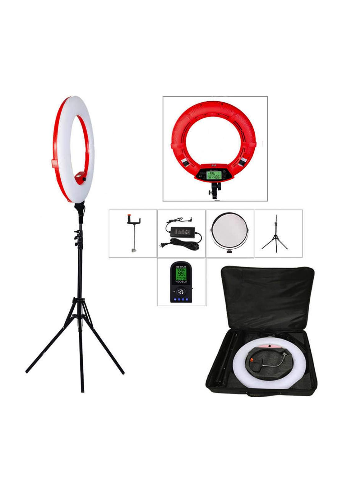 Yidoblo FC-480 Studio LED Ring Light حلقة التصوير المضيئة