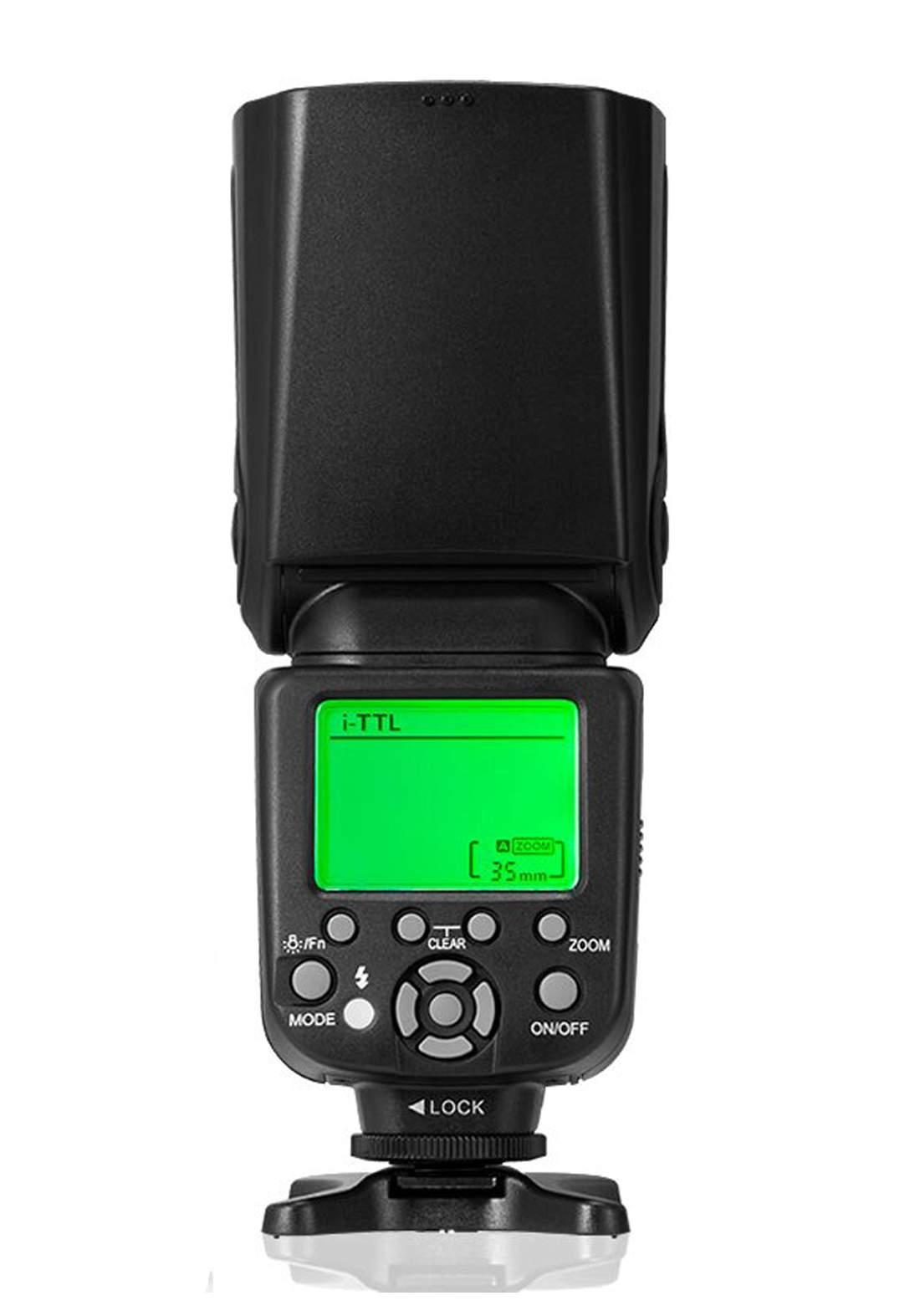 Triopo TR-982III  Wireless Wireless Master Slave Flash  for Nikon Canon - Black فلاش كاميرا