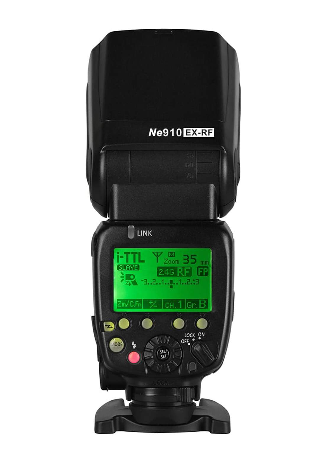 NiceFoto NE910EX-RF  Flash  For Canon & Nikon - Black فلاش كاميرا