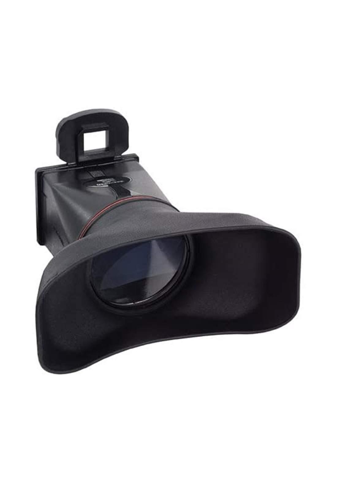 NanGuang CN 278 Dual LCD Display Magnifier Viewfinder for Canon  - Black  عدسة مكبرة للكاميرا