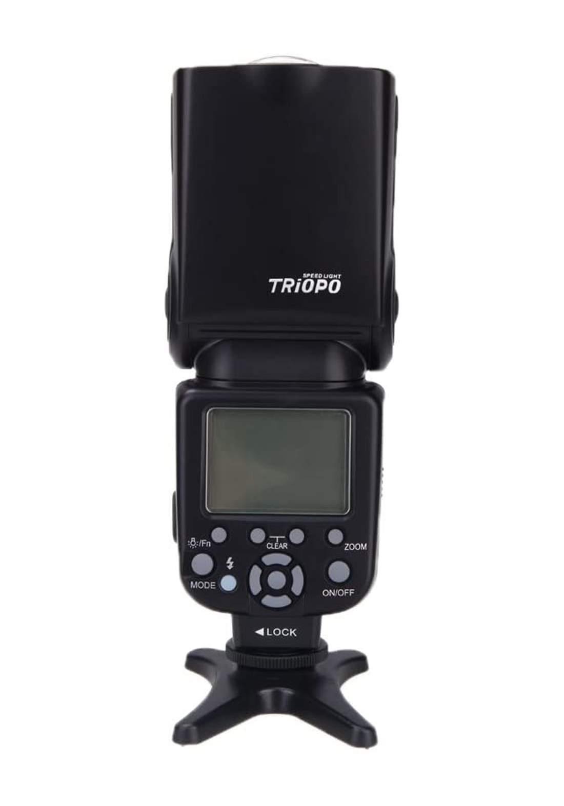 Triopo TR-586 EXC Wireless Flash  for Canon فلاش كاميرا