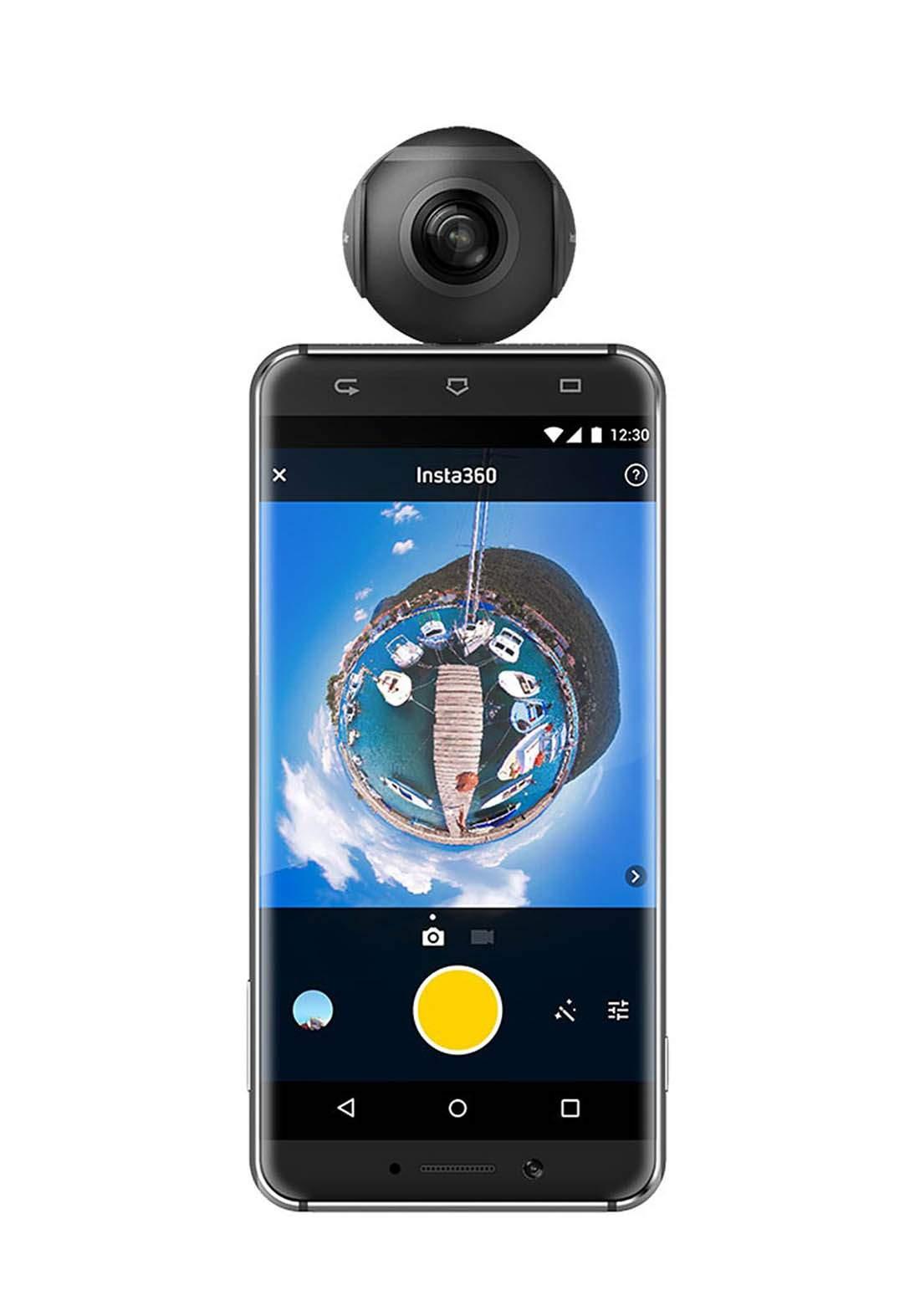 Insta360 Camera for Android Phone - Black عدسة كاميرا للهاتف