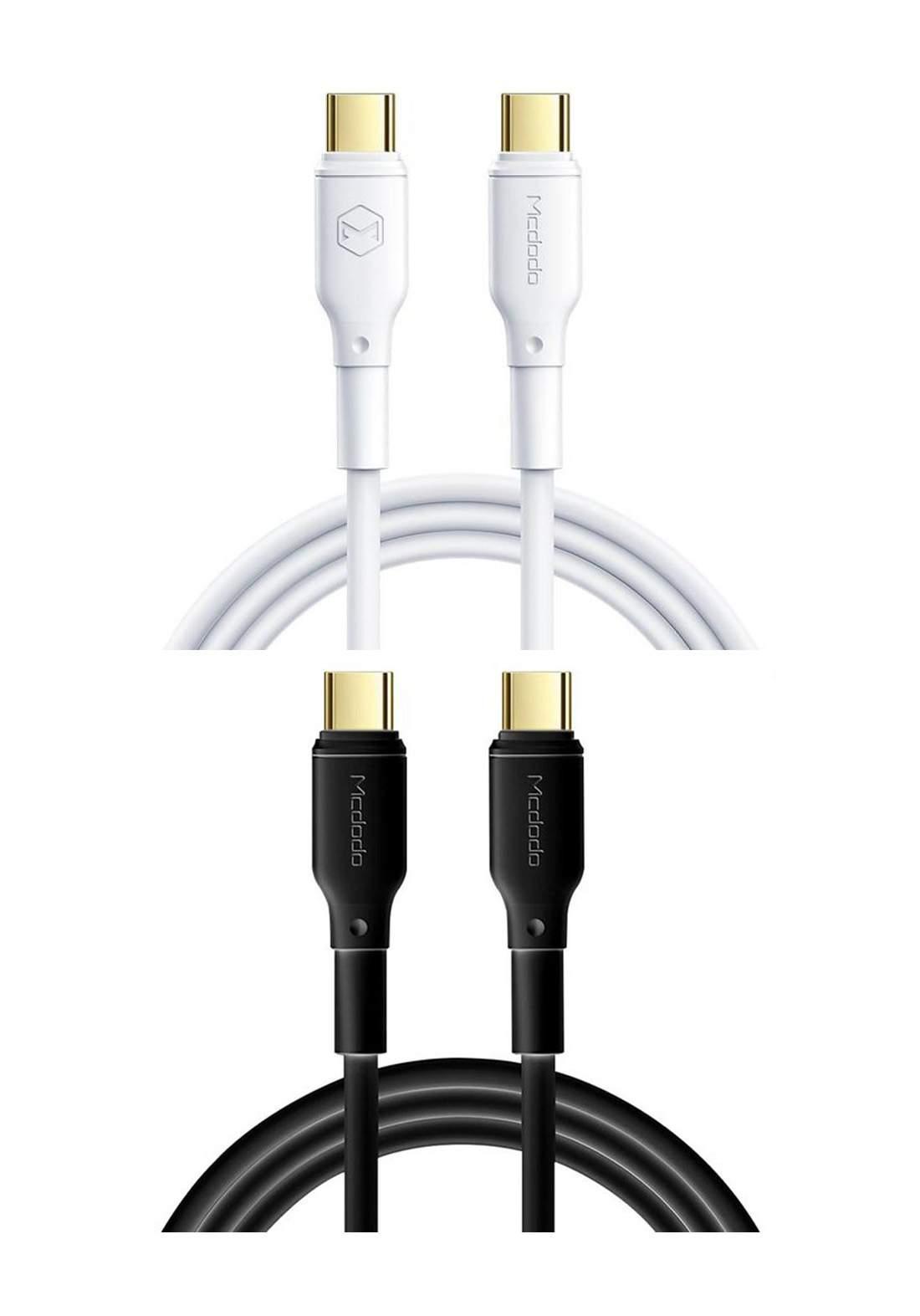 Mcdodo 100W USB Type-C to Type-C Cable 1.2m كابل