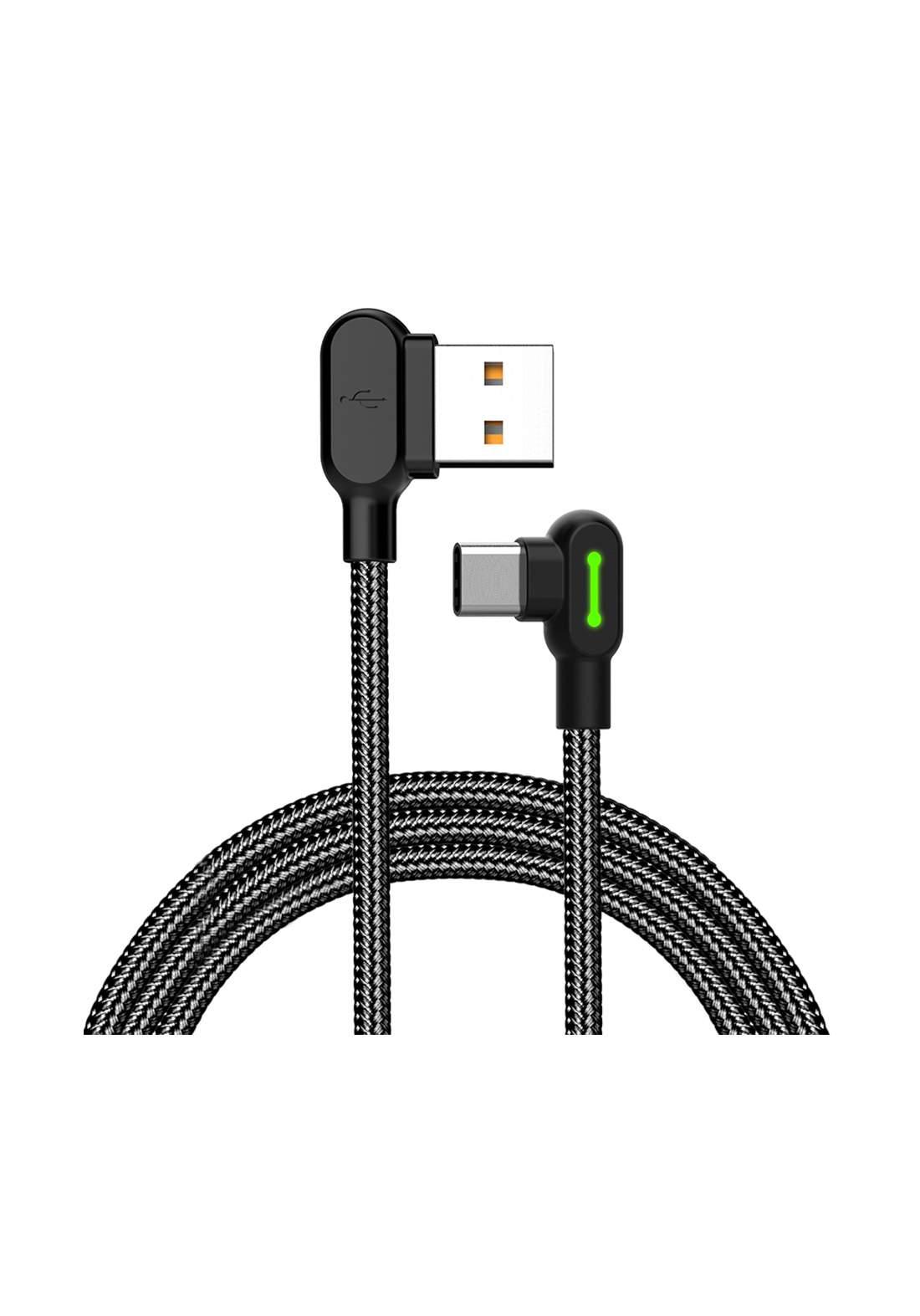 (3008)Mcdodo CA05282 USB  to USB Type-C Cable 1.8m - Black كابل