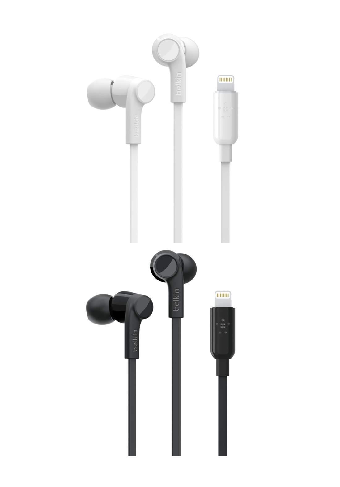 Belkin Wired Earphones with Lightning Connector سماعة