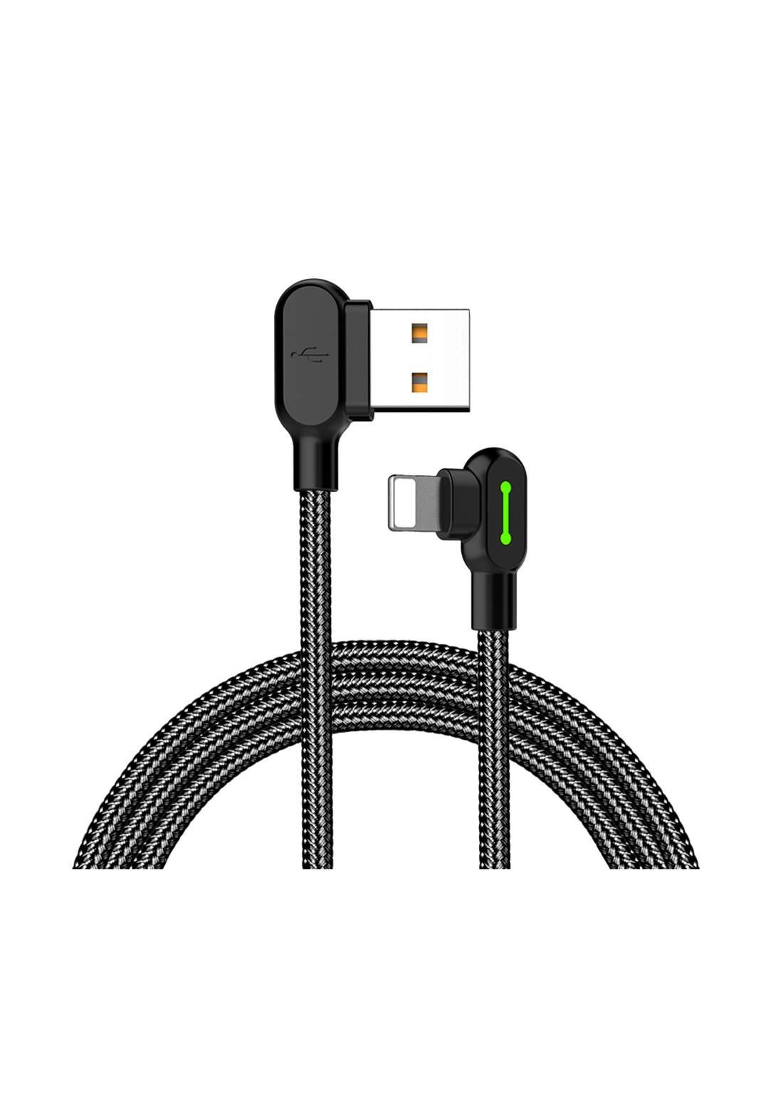 (3438)Mcdodo CA04673 USB to Lightning Cable 1.8 m - Black كابل