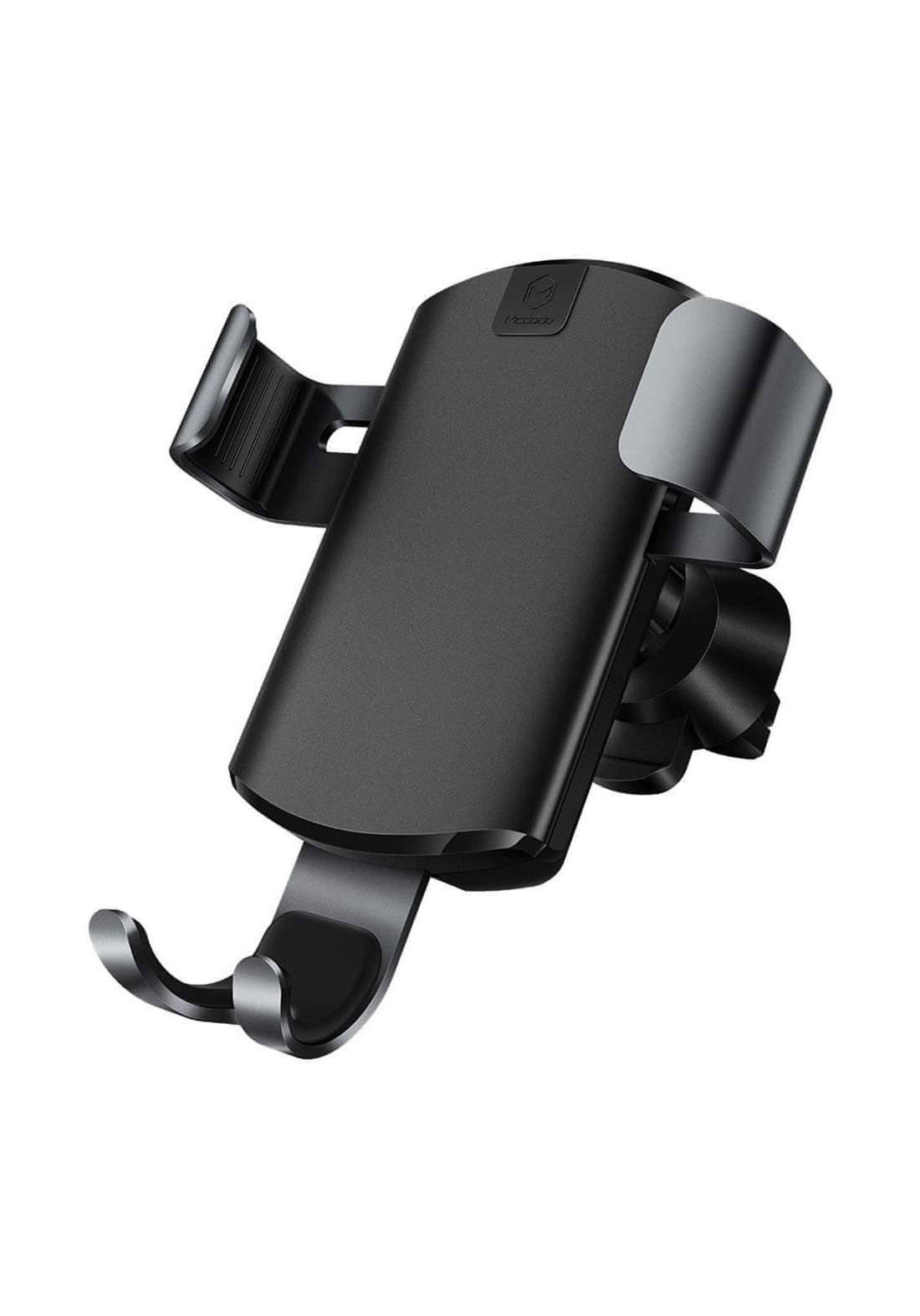 (11438)Mcdodo CH-5181 7.5 W / 10 W Gravity Wireless Charger - Black شاحن موبايل للسيارة