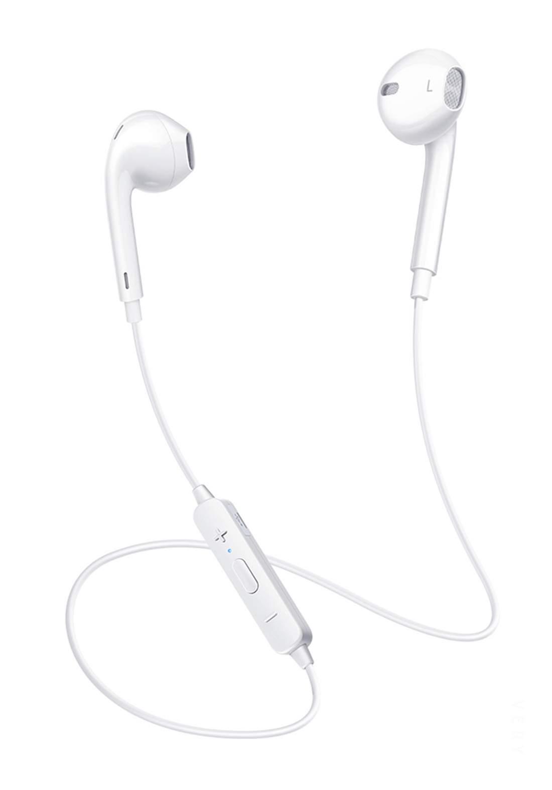 (10990)Mcdodo HP-6060 Headset Bluetooth Element - White سماعة