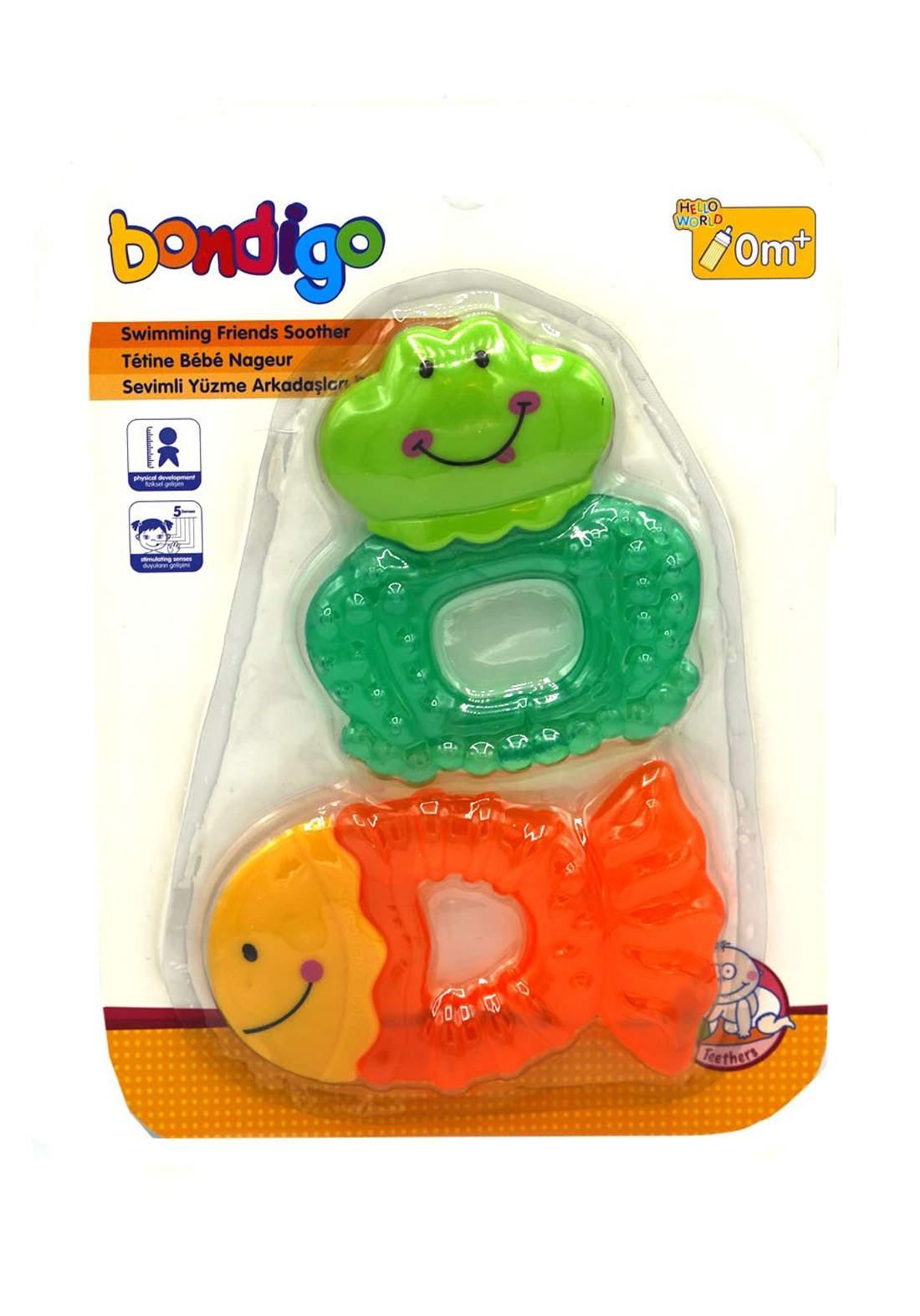 Bondigo Lovely Swimming Friends  Teething عضاضة أطفال
