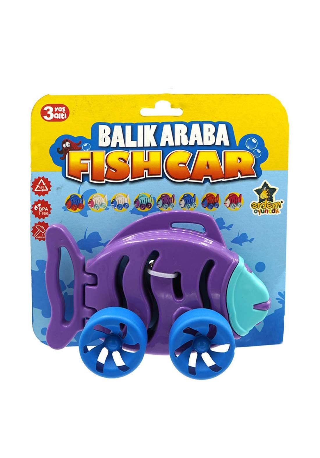 Erdem Toy Fish Car لعبة السيارة للأطفال