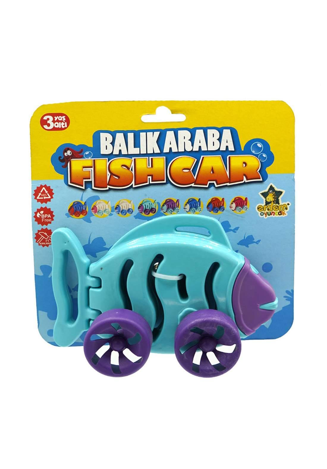 Erdem Toy Fish Carلعبة سيارة للأطفال