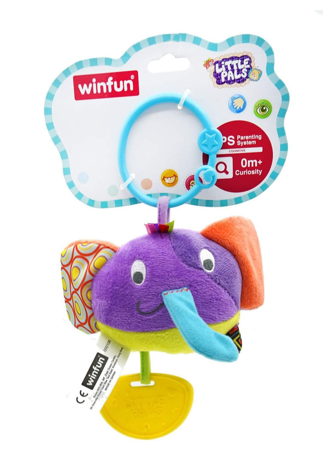 WinFun Little Pals Hand Rattle لعبة  خرخاشة للأطفال