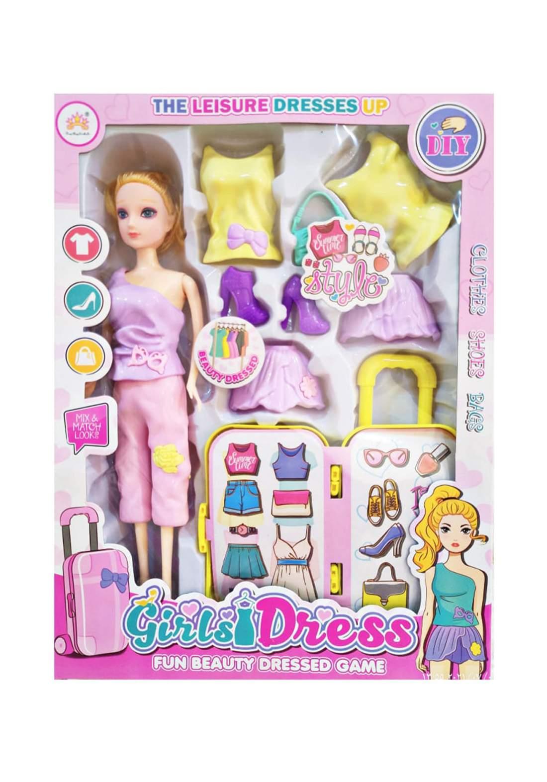 Girl Dress Doll  لعبة فتاة الأزياء