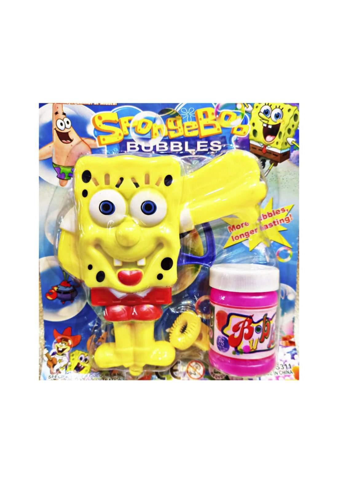 Sponge Boo Bubbles Gun for kids لعبة للأطفال