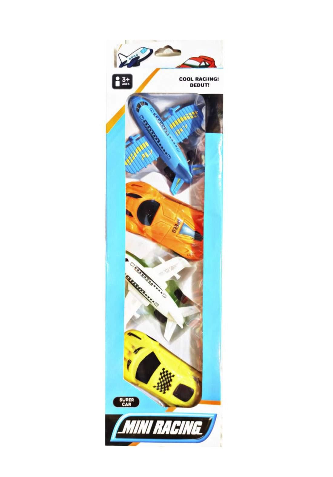 Super Car Mini Racing Toy  Toy for Kids سيت لعبة للأطفال