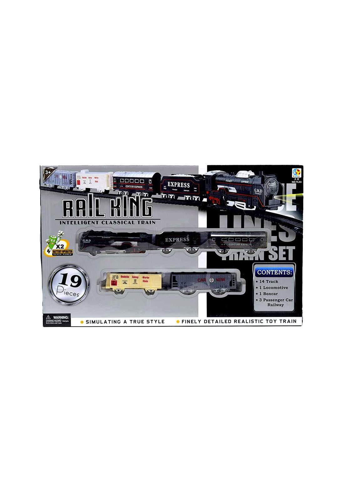 Rail king Tanli  TL03  train لعبة القطار للأطفال