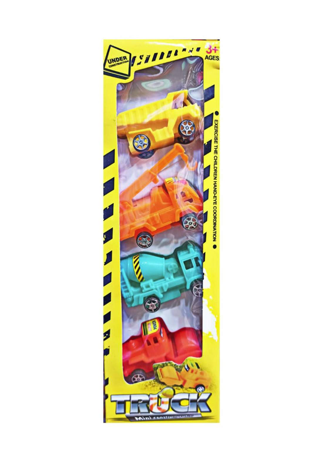 Mini construction car Toys سيت  لعبة للأطفال