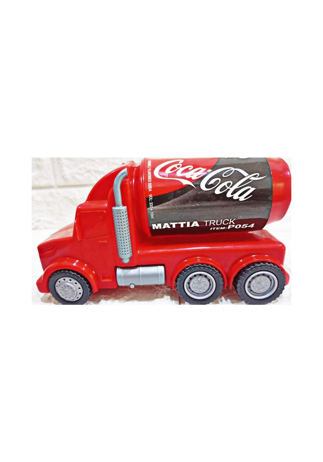 Coca Cola Mattia Truck p054 لعبة للأطفال