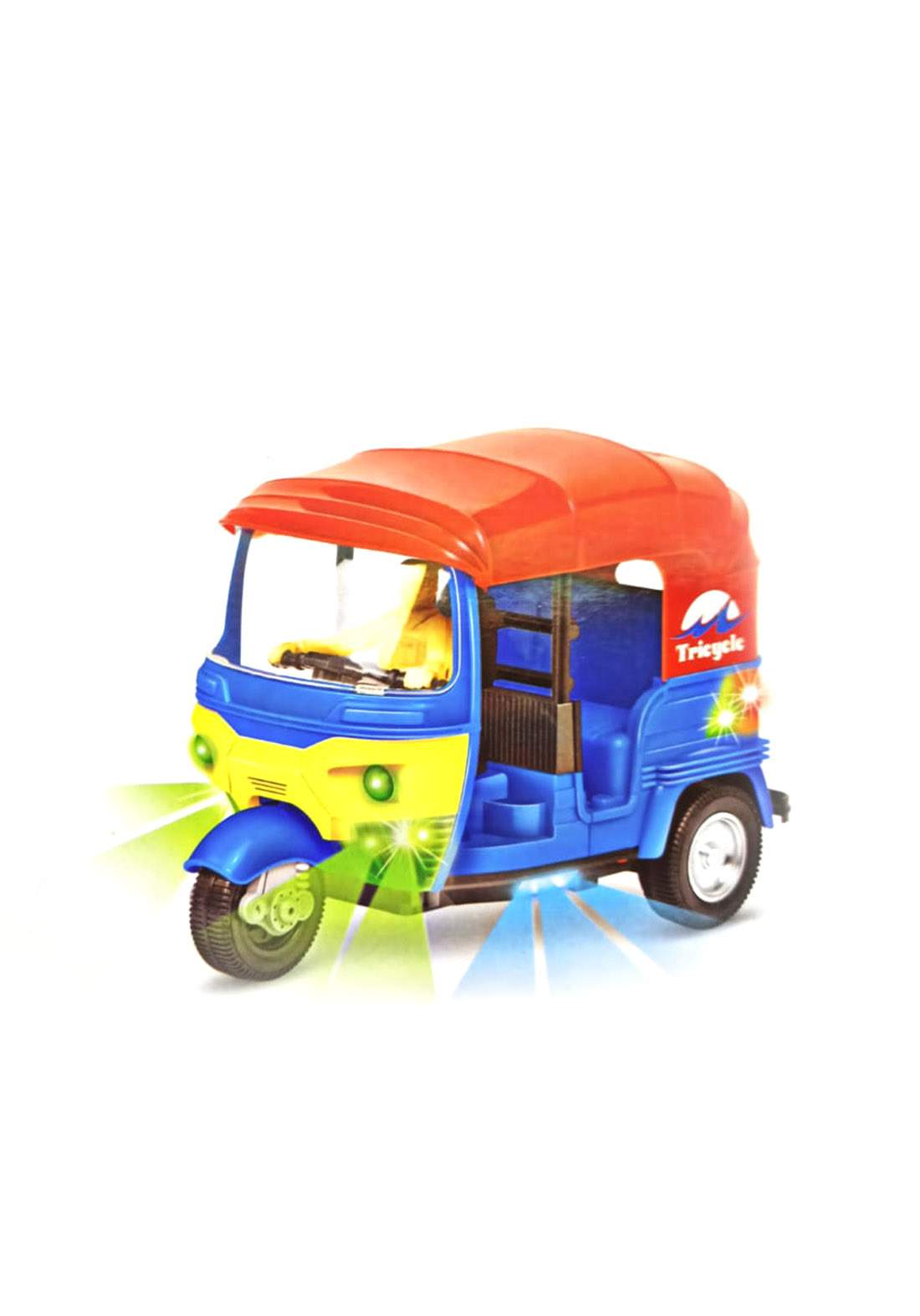 Auto Rickshaw Battery Operated Toy لعبة للأطفال