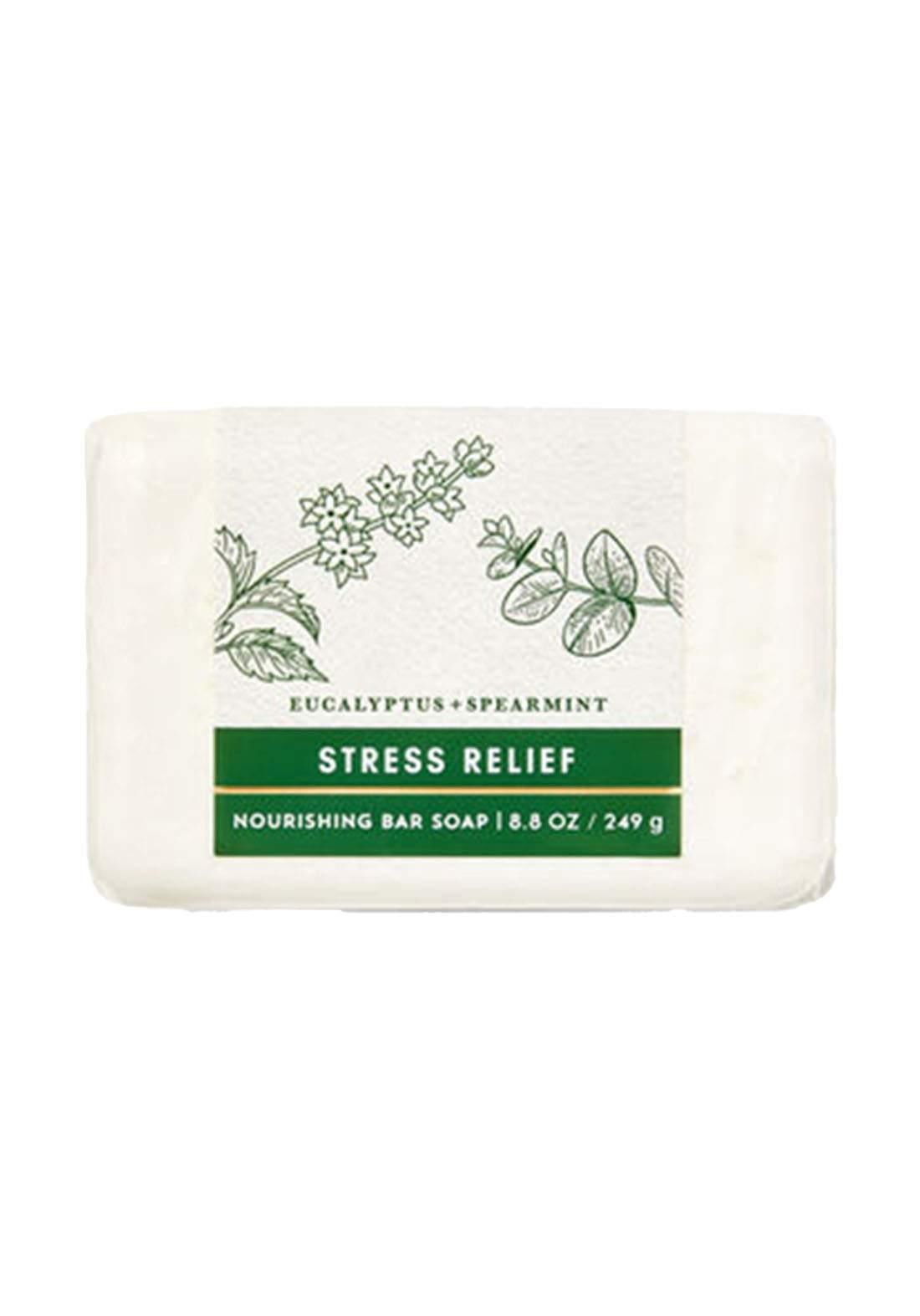Bath And Body Works Aromatherapy Eucalyptus Spearmint Nourishing Bar Soap 249g صابونة