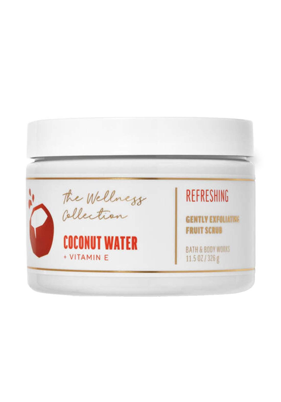 Bath And Body Works Coconut Water Gently Exfoliating Fruit Scrub 326g مقشر