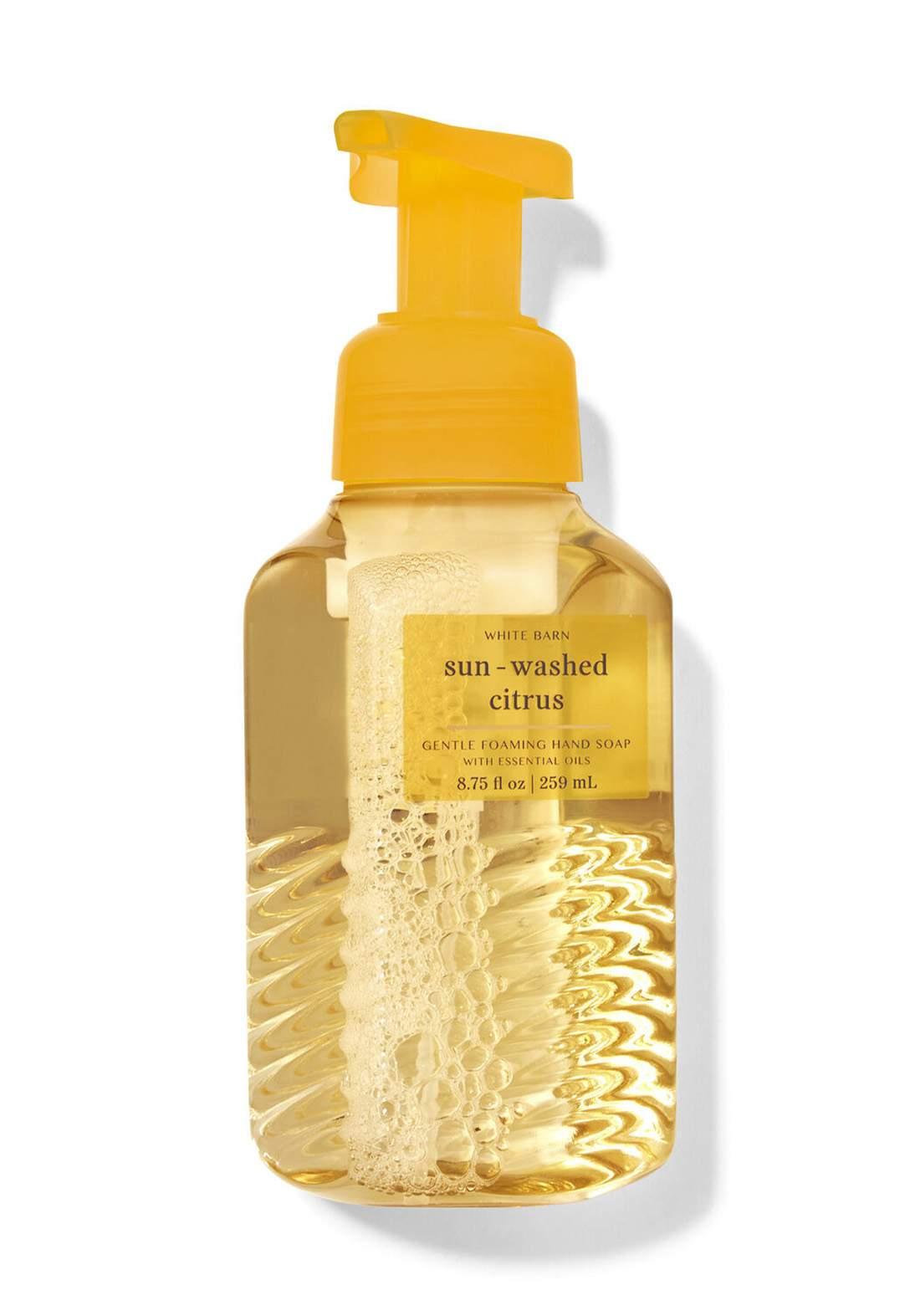 Bath & Body Works Sun-Washed Citrus Gentle Foaming Hand Soap 259ml صابون رغوة لليدين