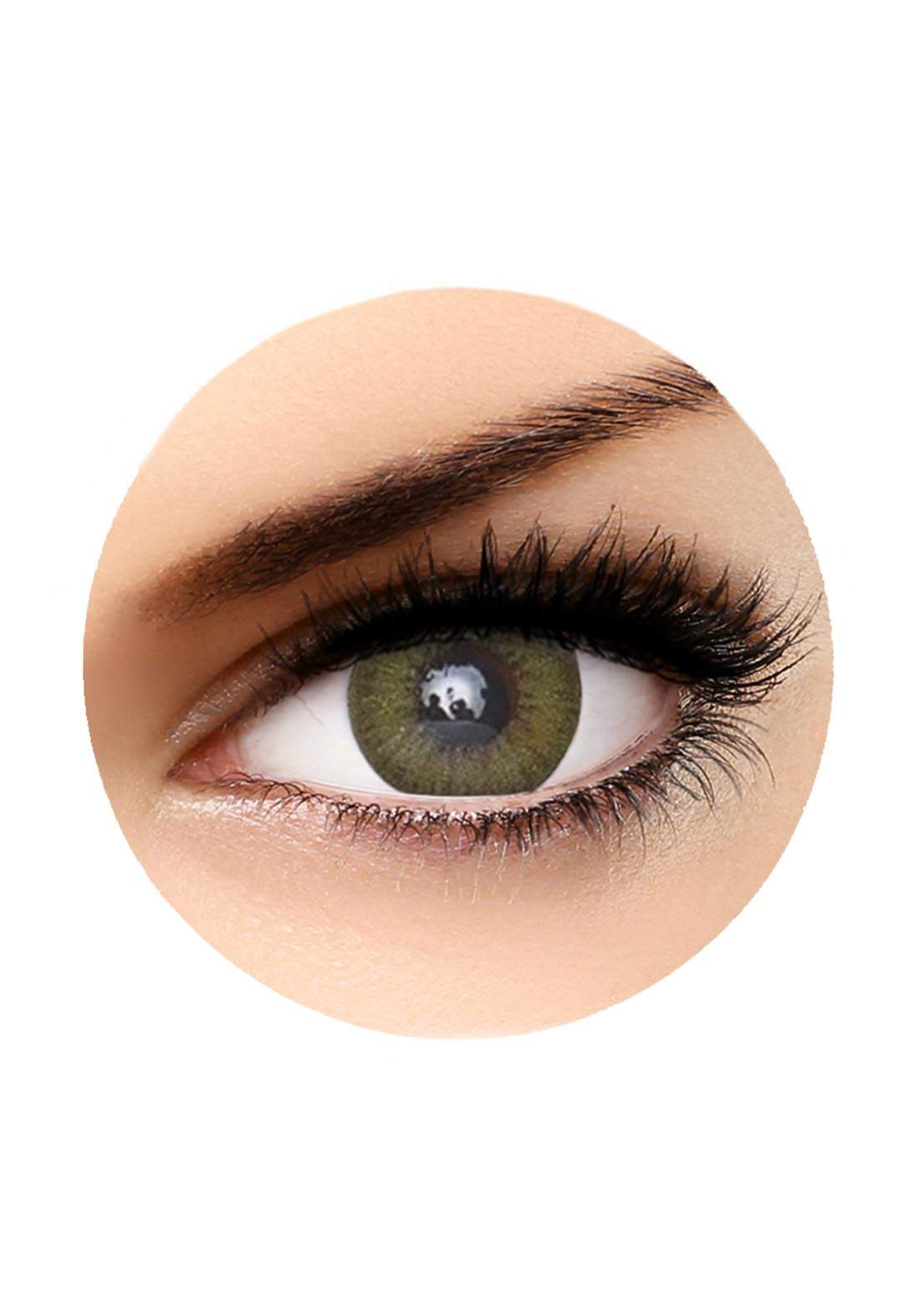 Bella Diamonds Contact Lenses Caribbean Green No.40 عدسات لاصقة