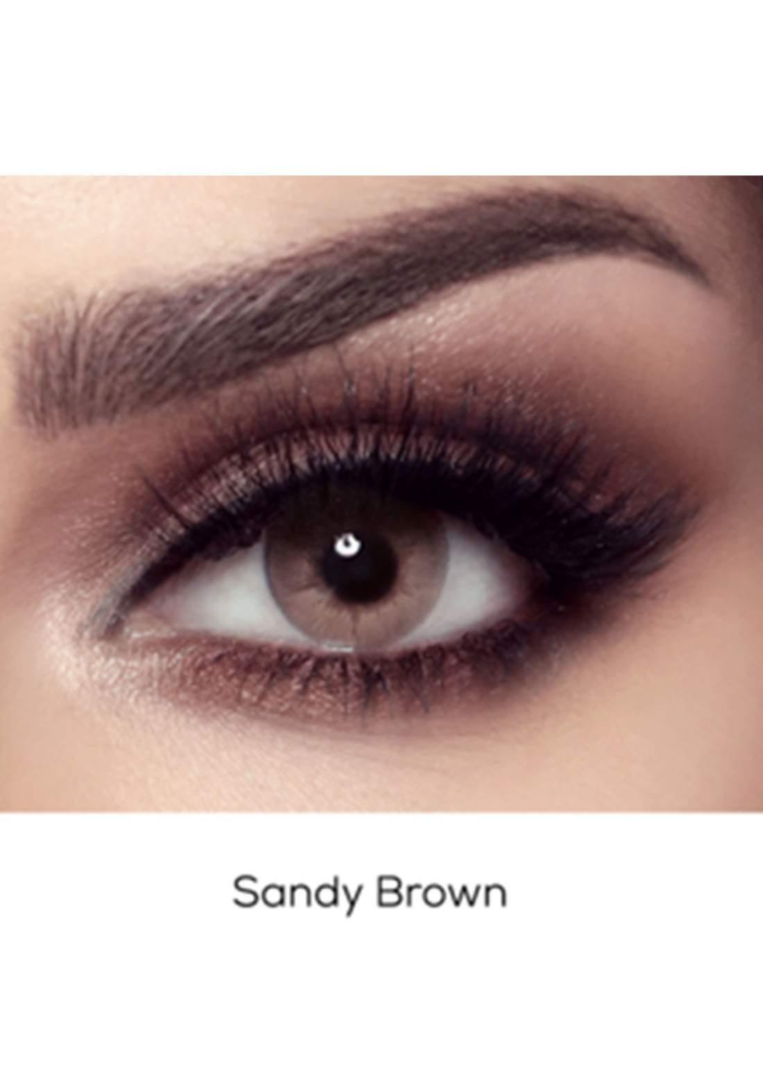 Bella Elite Contact Lenses 30604 Sandy Brown No.59 عدسات لاصقة