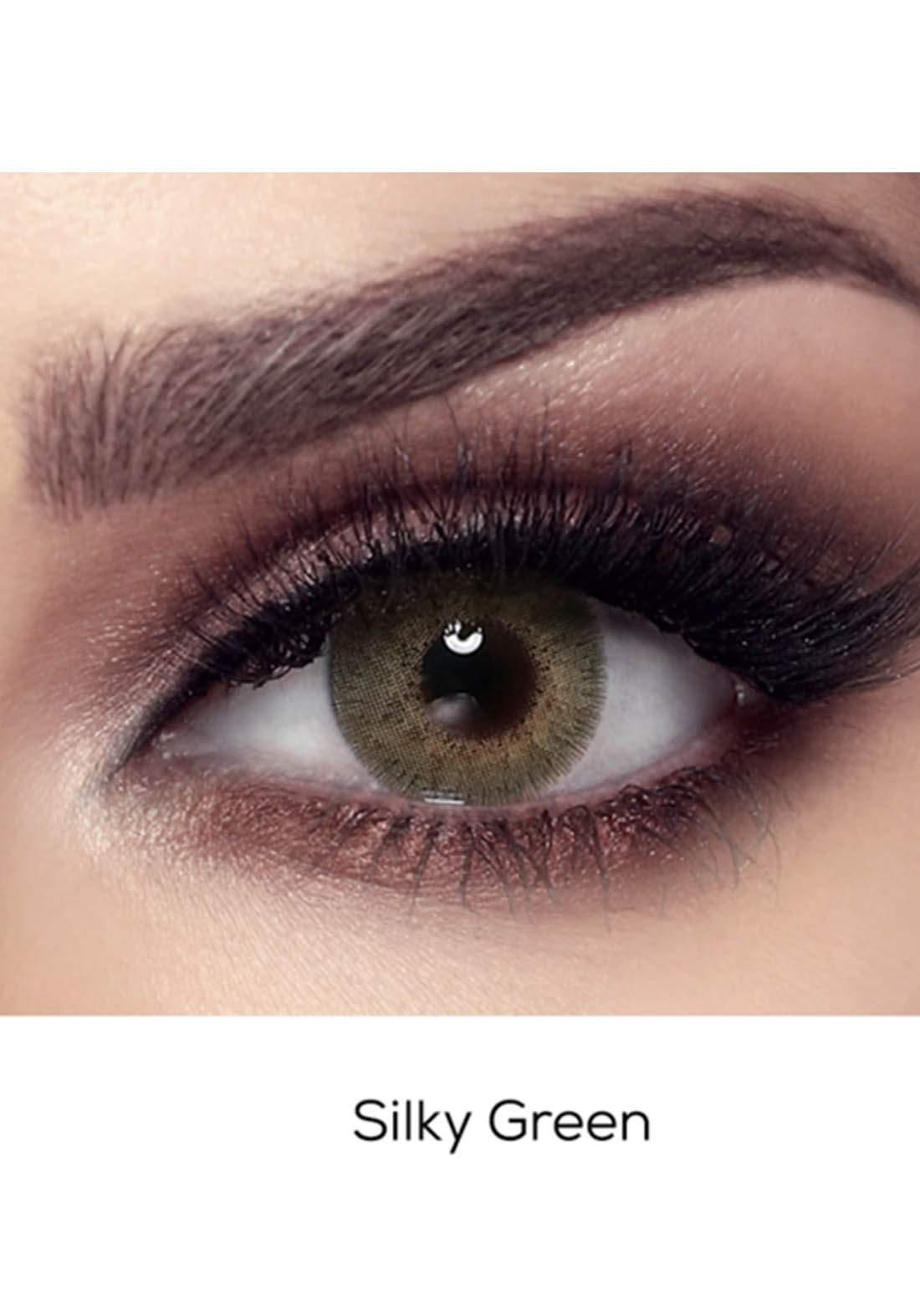 Bella Elite Contact Lenses 30606 Silky Green No.62 عدسات لاصقة