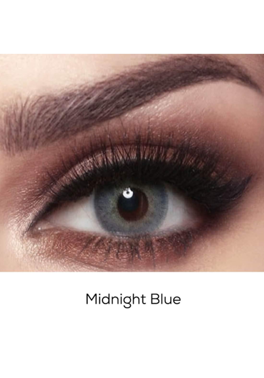 Bella Elite Contact Lenses 30607 Midnight Blue No.63 عدسات لاصقة