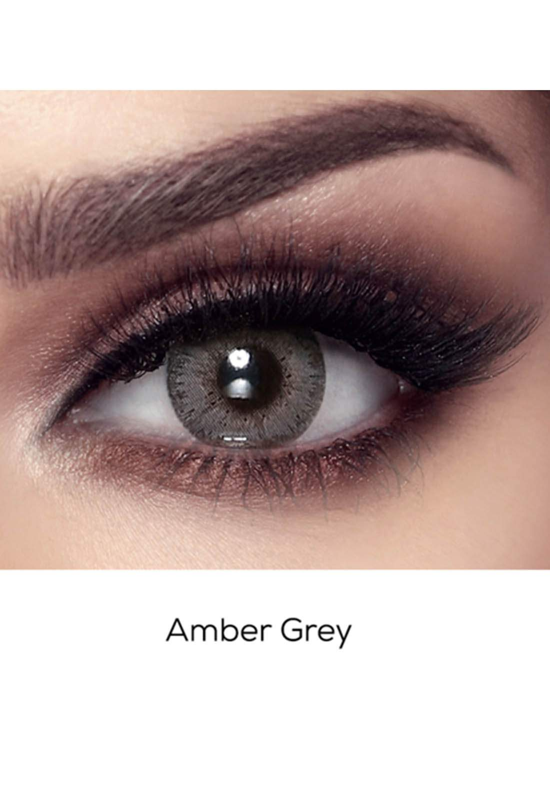 Bella Elite Contact Lenses 30608 Amber Gray No.64 عدسات لاصقة