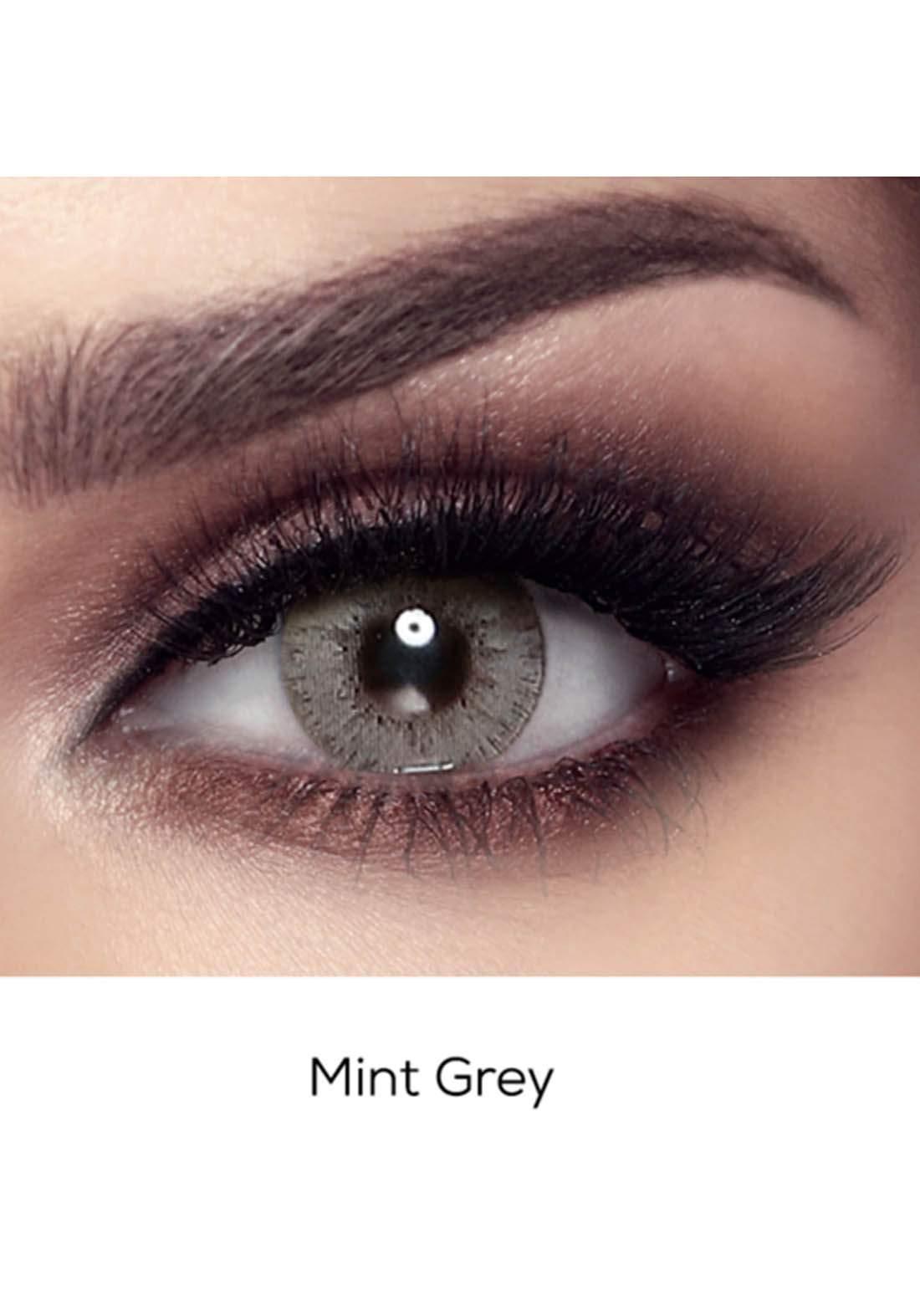 Bella Elite Contact Lenses 30609 Mint Gray No.61 عدسات لاصقة
