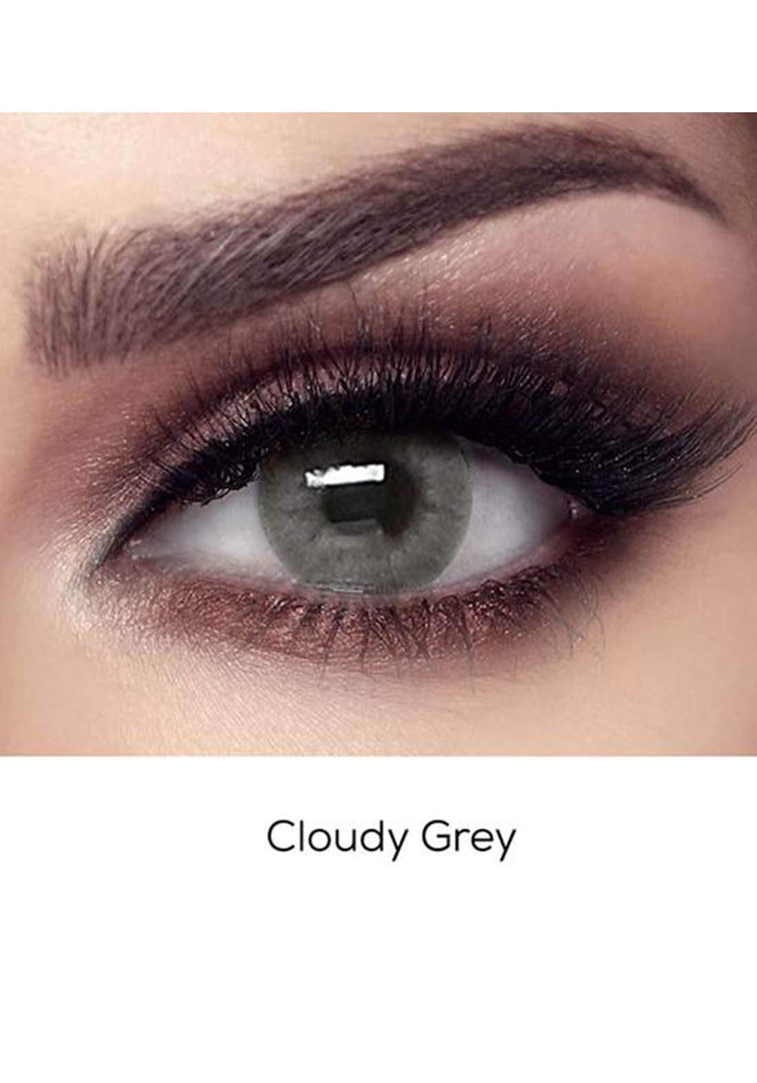 Bella Elite Contact Lenses 30611 Cloudy Gray No.57 عدسات لاصقة