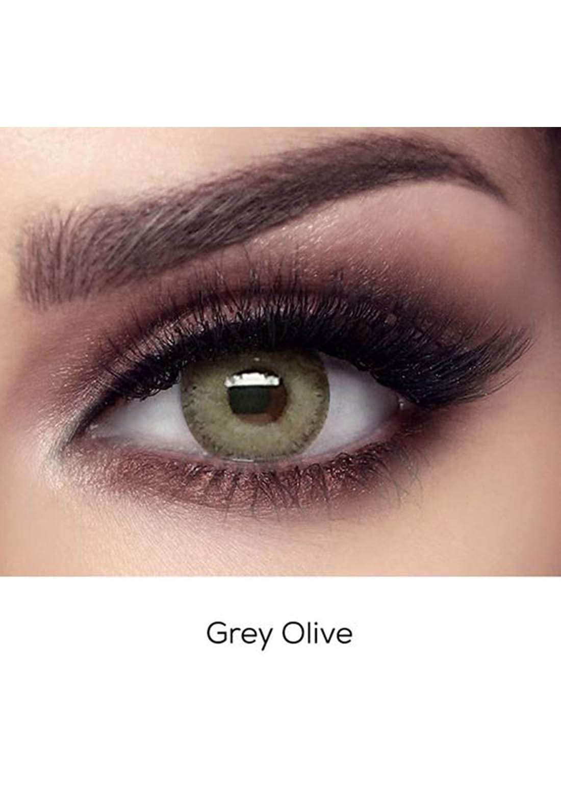 Bella Elite Contact Lenses 30613 Gray Olive No.67 عدسات لاصقة
