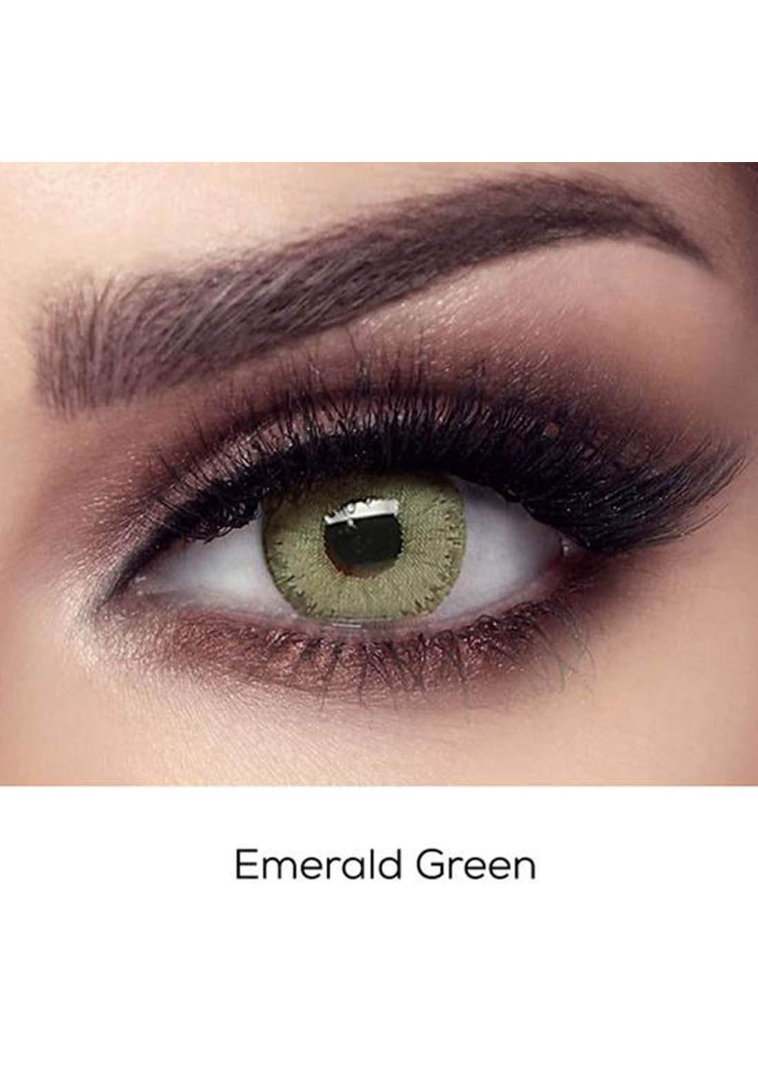 Bella Elite Contact Lenses 30614 Emerald Green No.68 عدسات لاصقة