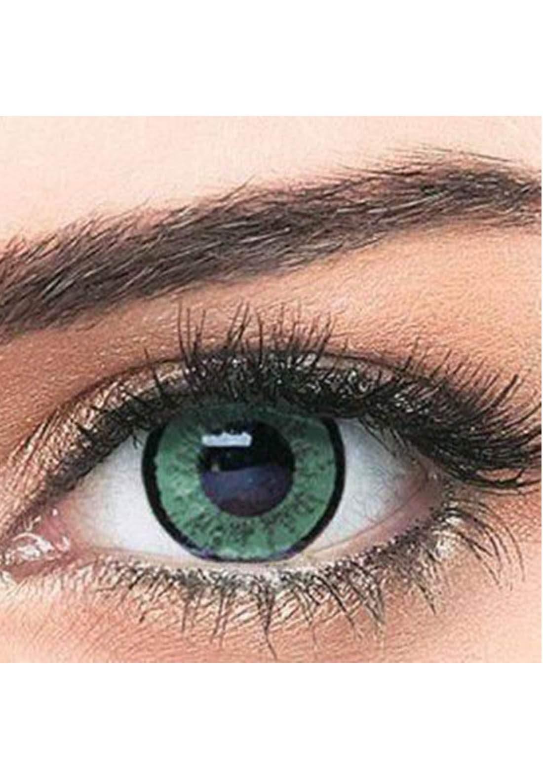 Bella Classic 301010 Contact Lenses 3 Months Use Elegance - Green  No.10 عدسات لاصقة