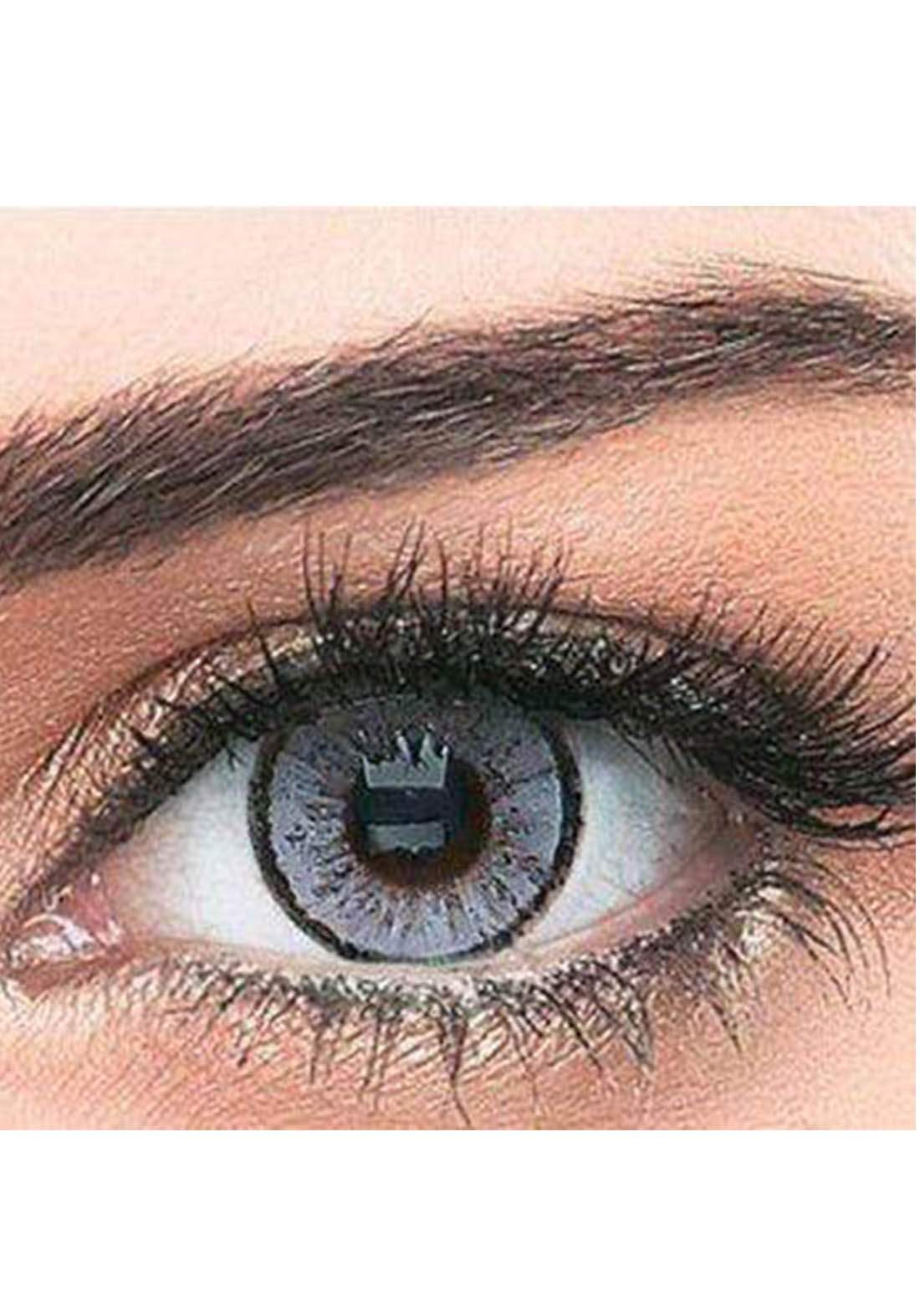 Bella Classic 301011 Contact Lenses 3 Months Use Elegance - Gray No.12 عدسات لاصقة