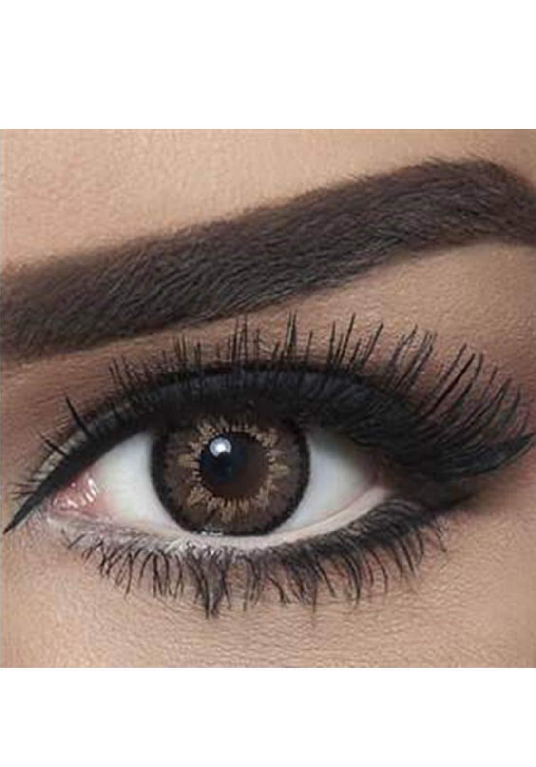 Bella Classic 301013 Contact Lenses 3 Months Use High Light - Circle Brown No.14 عدسات لاصقة