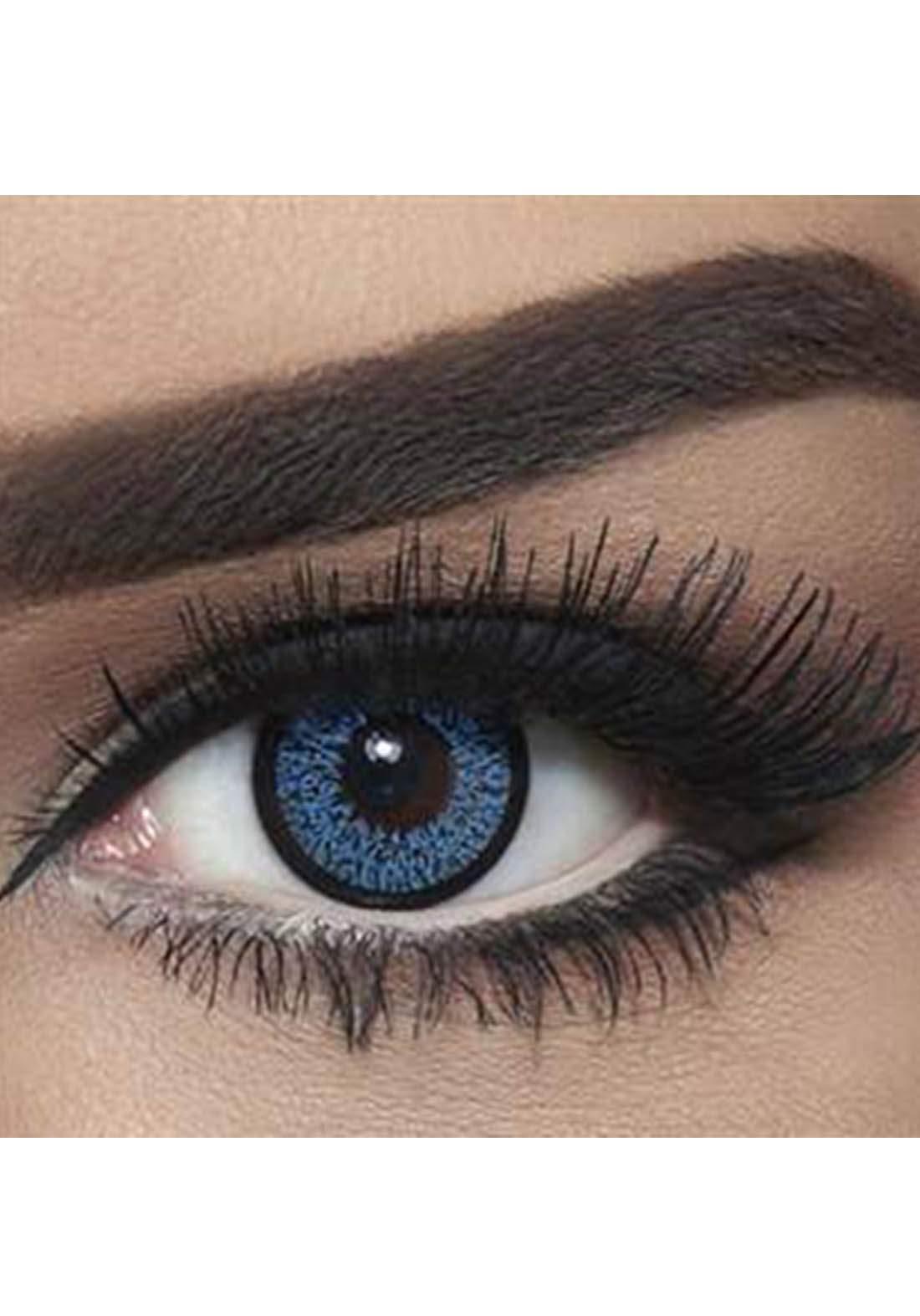 Bella Classic 301016 Contact Lenses 3 Months Use High Light -Blue No.17 عدسات لاصقة